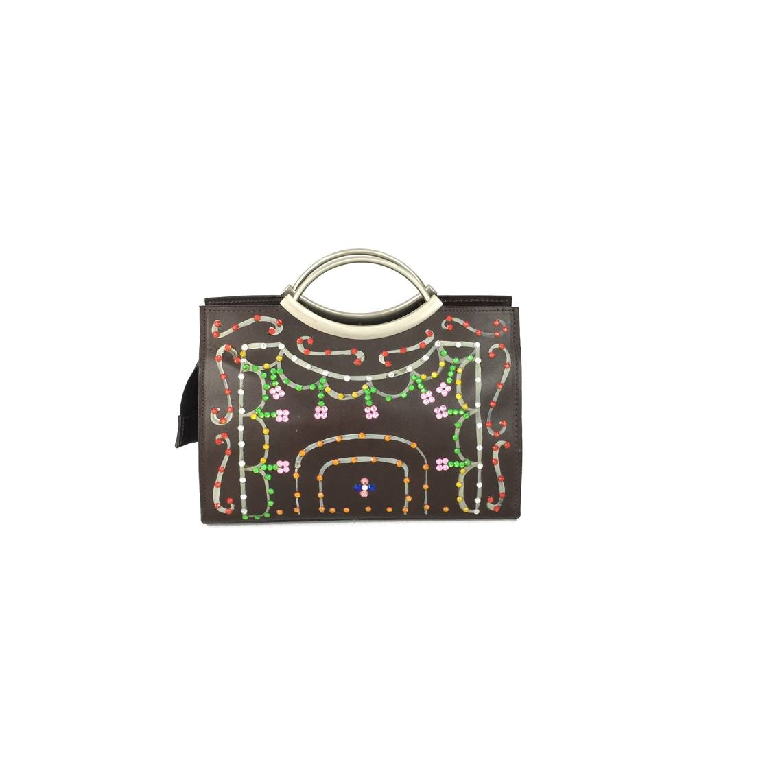 Borsa Tjndara glam brown light