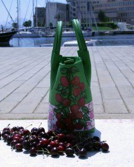 Borsa Tjndara pelle Cherry mood