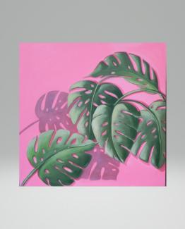 Quadro acrilico natural pink